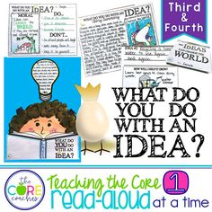 Interactive read-aloud for 3rd and 4th grades