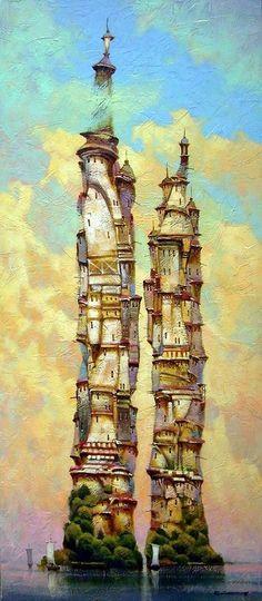 Автор картины Vytautas Laisonas Сайт автора: http://vytautaslaisonas.com/