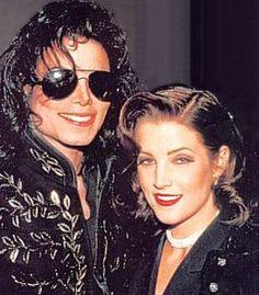 Michael Jackson with Lisa Marie Presley