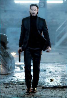 John Wick played wonderfully by Keanu Reeves