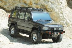 Isuzu Trooper with extras. Solid / Underrated truck.
