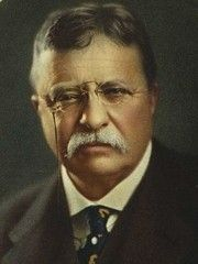 26th US President Theodore Roosevelt. Major conservationist. Author. Diplomat. Family man. POTUS. On Mt. Rushmore next to Washington, Lincoln and Jefferson. And rightly so.