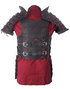 Samurai Leather Armor - Full Set - Black