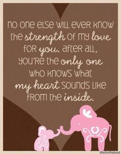 Cute newborn baby quotes and sayings for new parents, for scrapbooking and from the bible. Funny I love you Baby Quotes and images for a boy and for her. The Words, Mother Daughter Quotes, To My Daughter, Mother Family, New Mother Quotes, Mothers Love Quotes, Mother To Son, Becoming A Mother Quote, Giving Birth Quotes