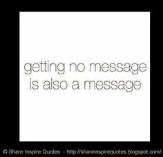 Getting no message is also a message  #Funny #funnylessons #funnyadvice…