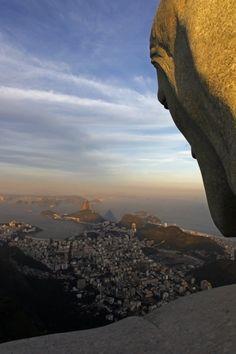 Cristo Redentor, Rio de Janeiro, Brasil...