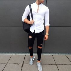 Check out Clean look by Tag us in your pictures for a chance to get featured. For daily fashion Casual Outfits, Men Casual, Fashion Outfits, Style Fashion, Modern Men Street Style, Super Moda, Stylish Mens Fashion, Fashion Men, Mens Style Guide