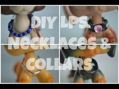 DIY: LPS Necklaces & Collars - YouTube