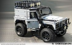 The Modified Defender 90 Technic Build that Lego Needs to Sell - Choice Gear