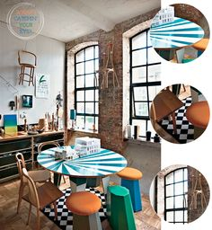 Colourful London Warehouse Kitchen – Bright.Bazaar