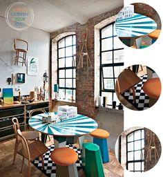 Colourful London Warehouse Kitchen – Bright.Bazaar