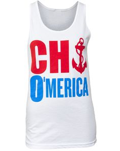 Chi Omega O'merica Tank. Where were these when I was in college?!?