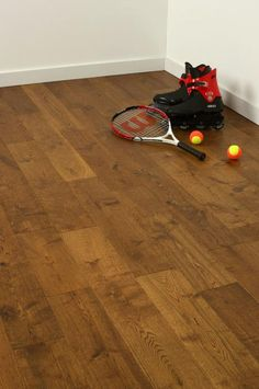 Atkinson & Kirby Diamond Solid Butterscotch Oak Floor Brushed & UV Lacquered 150mm Wide - Solid Butterscotch Oak Floor, 150mm Wide, 18mm Thick, Brushed & UV Lacquered