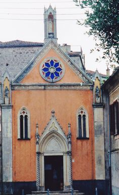 A lovely ancient church in Padula, Italy Taken in 2000 by Linda Nolan