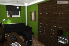domácí pracovna - návrhy interiérů Petr Molek - Designer