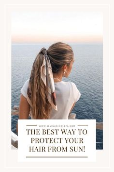 Everyone loves to have healthy and shiny hair, especially during summertime. But how do you protect your hair from the sun? No Heat Hairstyles, Casual Hairstyles, Everyday Hairstyles, Diy Hairstyles, Blonde Balayage, Blonde Hair, Simple Shampoo, Dry Hair Mask, Curly Hair Styles