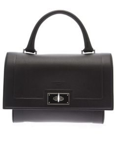 GIVENCHY Shark Mini Leather Bag. #givenchy #bags #shoulder bags #hand bags #leather #lining