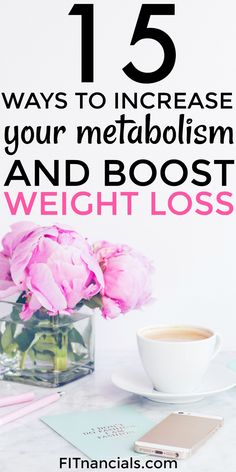 Healthy Living Tips Find out how you can increase your metabolism and boost weight loss without any fad diets or gimmicks. This is such a helpful post! - Here is a list of 15 ways to increase your metabolism and boost weight loss. Quick Weight Loss Tips, Weight Loss Help, Losing Weight Tips, Weight Loss Plans, Weight Loss Program, Healthy Weight Loss, How To Lose Weight Fast, Reduce Weight, Weight Loss Diets