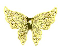 Your place to buy and sell all things handmade 18k Gold, Plating, Buy And Sell, Butterfly, Brooch, Handmade, Stuff To Buy, Jewelry, Hand Made