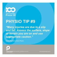 tips for fall prevention #physio tips #100years