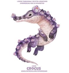 Crocus - Word Play by Cryptid-Creations on DeviantArt