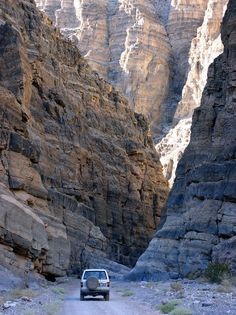 Titus canyon Death Valley California
