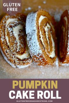 Just like you remember, the classic gluten free pumpkin cake roll that every holiday table can't be without. Making a professional-looking cake roll is so easy. It's all in the technique! #Cake #GlutenFree #CakeRoll #Pumpkin Muffin Recipes, Cake Recipes, Fun Desserts, Delicious Desserts, Pumpkin Roll Cake, Gluten Free Pumpkin, Holiday Tables, Cupcake Cakes, Food To Make