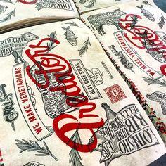 Rebranding of #grillhouse #restaurant #design #lettering #predator Grill Restaurant, Restaurant Ideas, Restaurant Design, Predator, Vodka, Grilling, Branding, Lettering, How To Make