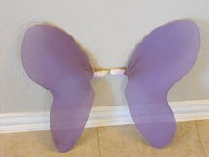 DIY {Coat Hanger} Fairy Wings  Like these better. You don't have to reshape the coat hangers so much.