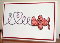 I {heart} You by Lyndal H - Cards and Paper Crafts at Splitcoaststampers