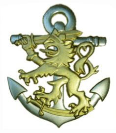 finland armed forces | WorldMilitary - Naval Metal Badge of Finnish Defence Forces