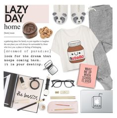 """""""Sleep In: Lazy Day"""" by preciouspearll on Polyvore featuring V::ROOM, Chanel, Prada, Kate Spade and LazyDay"""