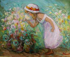 Andrei Branisteanu  - Inocenta Figurative, Artworks, Painting, Pintura, Painting Art, Paintings, Painted Canvas, Art Pieces, Drawings