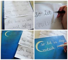 DIY- 3 (More) Easy Ways to Paint Words on Canvas!!