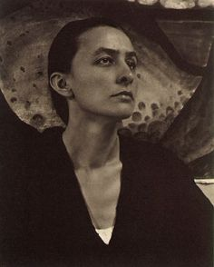 Georgia O'Keeffe, 1918. Photograph by Alfred Stieglitz.