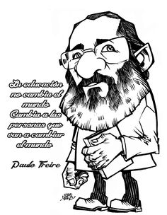 Paulo Freire Tinta sobre papel