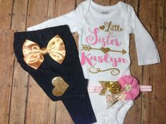 just born, baby, girl, coming home outfit, take home outfit, baby girl, onesie, hospital outfit, baby bodysuit, newborn baby clothes by SweetnSparkly on Etsy https://www.etsy.com/listing/263785830/just-born-baby-girl-coming-home-outfit