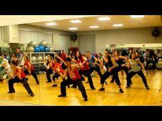 Zumba Class with L @Inn Fitness 12/19/2011 Part 2