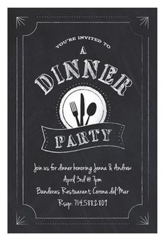 Beautiful Pinterest  Free Dinner Invitation Templates Printable