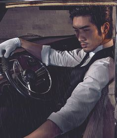 Godfrey Gao/ Don't know who he is, but it's a good picture.