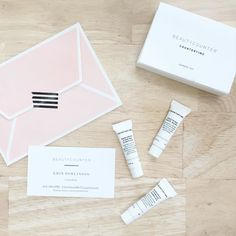 Yesterday at the workshop I was gifted the cutest little sample set of @beautycounter countertime! The thought was so sweet (with the adorable notecard and all) and can't wait to give it a try...cuz you all know how much I love beauty products! (Has anyone else tried it)?? And for those who are not familiar with @beautycounter I recommend checking them out (specifically the stats on ingredients). Also I hope to see you soon..as this lady has one crazy busy week ahead!  #saffronavenuestyles…