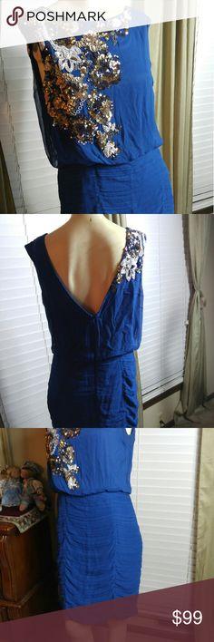Very nice dress Aidan Mattox- OFFER ON PRICE In excellent condition Aidan Mattox Dresses Midi