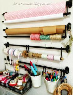 Mi habitación de costura, craftroom o simplemente mi taller...