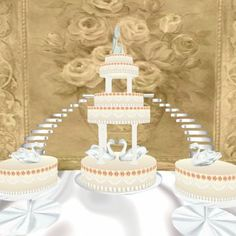 wedding cake stairs and bridge sets 1000 images about wedding cakes on wedding 25592