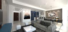 PR19 (proyecto residencial): mobiliario + revestimientos + iluminación #dgla #maracaibo #render