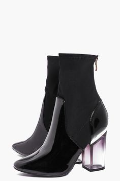Melissa Clear Heel Boot