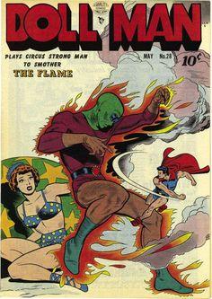 Doll Man 28 - Version 2 (Quality) - Comic Book Plus