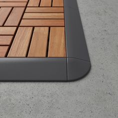 Ikea Outdoor Flooring, Patio Flooring, Backyard Patio, Backyard Landscaping, Backyard Retreat, Plein Air Ikea, Balcony Design, Garden Design, Platform Deck