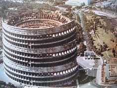 colosseum by superstudio by leonardo.bonanni, 1971