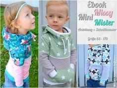 Nähanleitungen Kind - Ebook Mini Missy/Mister - ein Designerstück von Kristina1907 bei DaWanda